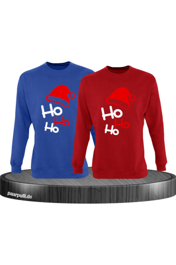 Ho Ho Ho Partnerlook Sweatshirts