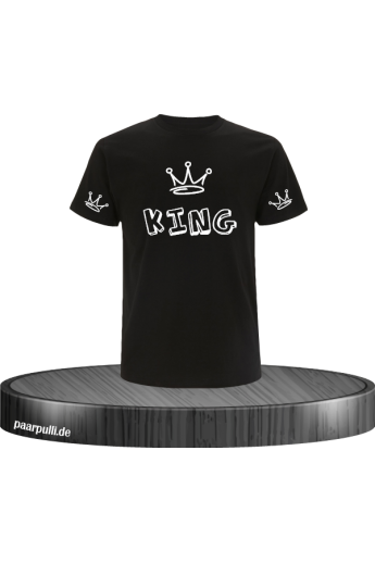 King mit Graffiti Design...
