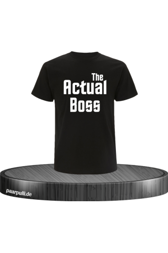 The Actual Boss T-Shirt in...