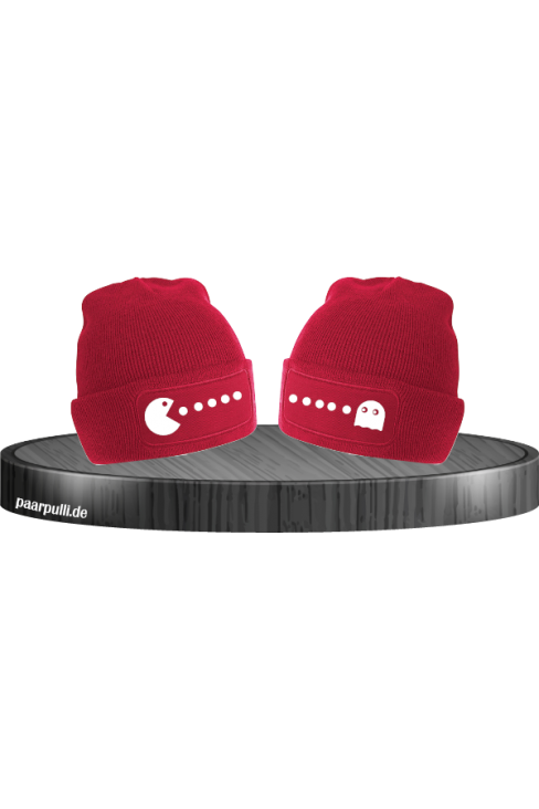 Arcade Style Beanies in rot